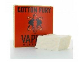 vapeur mecanique cotton fury organicka bavlna