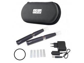 Elektronická cigareta eGo-T 650mAh bílá, manual, 2ks