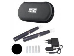 elektronicka cigareta ego t cerna 1100mah sada 2 ks