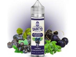 prichut daintys premium blueberry blackcurrant menthol 20ml