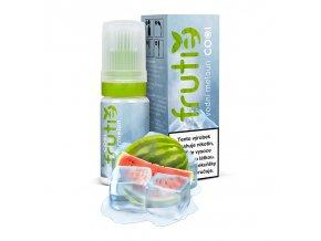 e liquidy frutie cool pg30 vg70 10ml vodni meloun