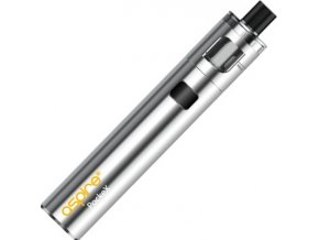 aspire pockex aio elektronicka cigareta 1500mah stainless steel stribrna