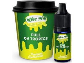 prichut aroma do baze coffee mill 10ml full on tropics