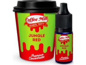 prichut aroma do baze coffee mill 10ml jungle red