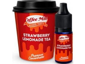 prichut aroma do baze coffee mill 10ml strawberry lemonade tea