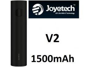 joyetech ego one v2 baterie 1500mah cerna