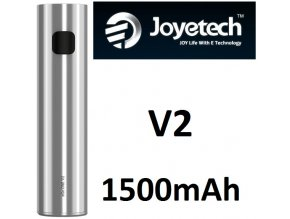 joyetech ego one v2 baterie 1500mah silver stribrna