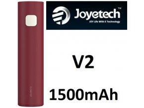 joyetech ego one v2 baterie 1500mah cervena red