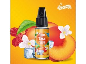 prichut aroma do baze sun tea 10ml peche hibiscus