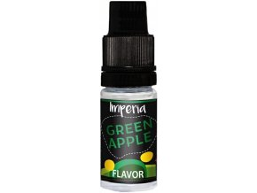 prichut imperia black label 10ml green apple zelene jablko