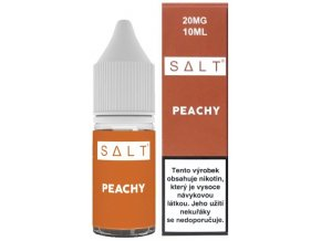 e liquid juice sauz salt peachy 10ml 20mg