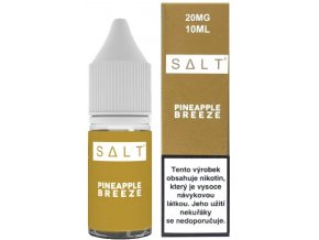 e liquid juice sauz salt pineapple breeze 10ml 20mg