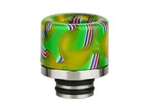 naustek 510 drip tip national flag svetle zeleny