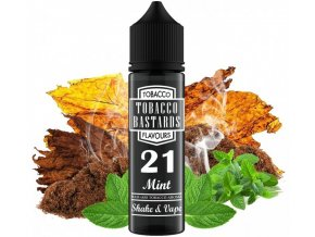 prichut flavormonks tobacco bastards shake and vape 21 mint 12ml