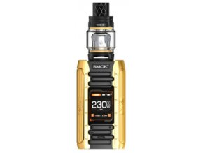 elektronicka cigareta smoktech e priv full kit zlaty gold