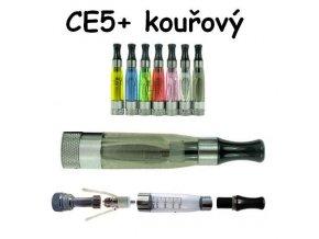 Clearomizér CE5+ kouřový s dlouhým knotem