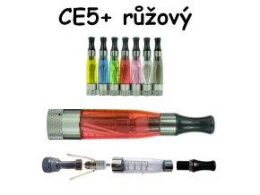 Clearomizér CE5+ růžový s dlouhým knotem