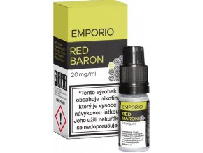 e liquid emporio salt red baron 10ml 20mg
