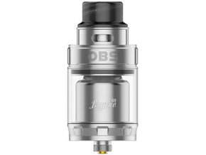 obs engine ii rta clearomizer silver stribrny