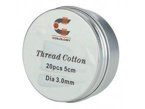 coilology thread cotton organicka bavlna 20ks