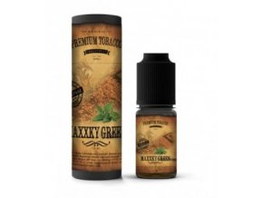 tabakova prichut premium tobacco maxxky green 10ml