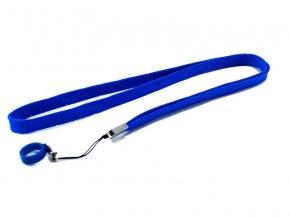 Šňůrka na krk pro elektronické cigarety eGo (modrá)
