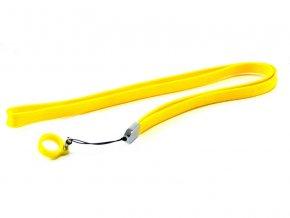 Šňůrka na krk pro elektronické cigarety eGo (žlutá)