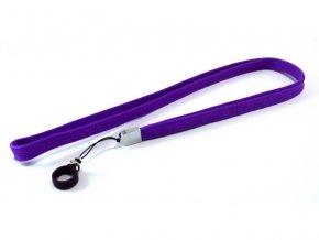 Šňůrka na krk pro elektronické cigarety eGo (fialová)