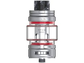 smok smoktech tfv16 tank clearomizer 9ml silver stribrny
