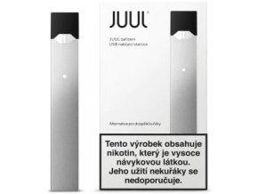 juul elektronicka cigareta 266mah silver
