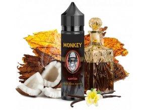 prichut monkey liquid kapitan tabak kokos bourbon 12ml