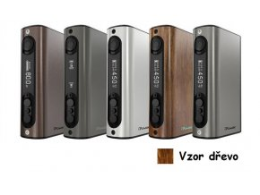 iSmoka-Eleaf iPower TC 80W grip 5000mAh vzor dřevo