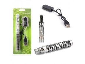 Elektronická cigareta eGo-CE4 900mAh kovová vroubkovaná 1ks