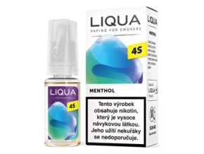 e liquid liqua 4s mentol menthol 10ml 20mg