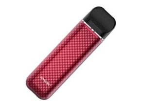 smoktech novo 2 elektronicka cigareta 800mah red carbon fiber cervena