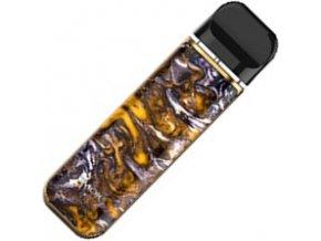 smoktech novo 2 elektronicka cigareta 800mah yellow and purple