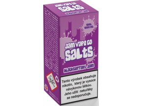 E-liquid Juice Sauz SALT The Jam Vape Co Blackcurrant Jam (Sladký džem z černého rybízu) 10ml