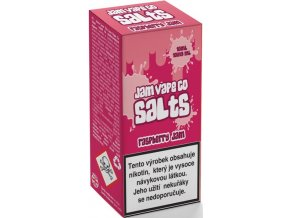 liquid juice sauz salt the jam vape co raspberry jam 10ml 10mg 20mg