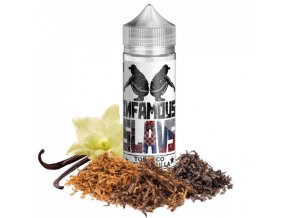 prichute infamous slavs tobacco with vanilla 20ml