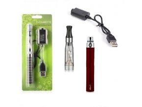 Elektronická cigareta eGo-CE4 900mAh červená 1ks