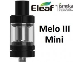 iSmoka-Eleaf Melo 3 Mini clearomizér černý