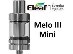 iSmoka-Eleaf Melo 3 Mini clearomizér stříbrný