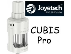 Joyetech CUBIS Pro Clearomizér 4ml bílý