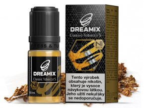 e liquid dreamix salt classic tobacco s s nikotinovou soli 10ml