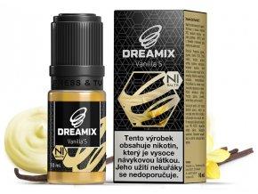 e liquid dreamix salt vanilka vanilla s s nikotinovou soli 10ml