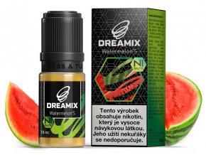 e liquid dreamix salt vodni meloun s nikotinovou soli 10ml
