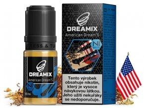 e liquid dreamix salt americky tabak s nikotinovou soli 10ml
