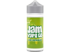 prichut juice sauz the jam vape co shake and vape 30ml lime marmalade