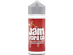 prichut juice sauz the jam vape co shake and vape 30ml strawberry jam