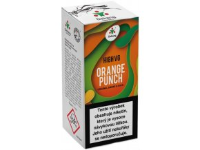 liquid dekang high vg orange punch sladky pomeranc 10ml